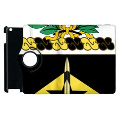 Coat Of Arms Of United States Army 49th Finance Battalion Apple Ipad 3/4 Flip 360 Case