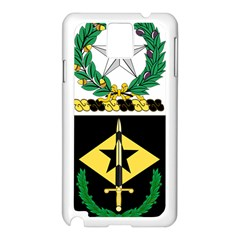 Coat Of Arms Of United States Army 49th Finance Battalion Samsung Galaxy Note 3 N9005 Case (white)