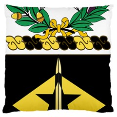 Coat Of Arms Of United States Army 49th Finance Battalion Standard Flano Cushion Case (two Sides)