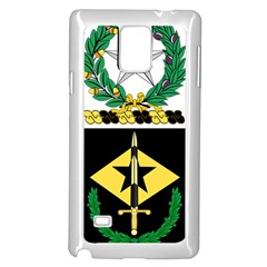 Coat Of Arms Of United States Army 49th Finance Battalion Samsung Galaxy Note 4 Case (white)
