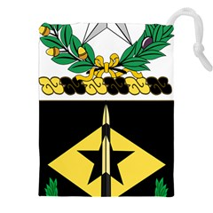 Coat Of Arms Of United States Army 49th Finance Battalion Drawstring Pouch (2xl)