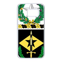 Coat Of Arms Of United States Army 49th Finance Battalion Samsung Galaxy S7 White Seamless Case