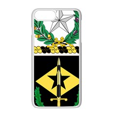 Coat Of Arms Of United States Army 49th Finance Battalion Iphone 8 Plus Seamless Case (white)