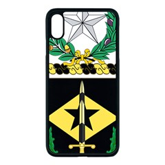 Coat Of Arms Of United States Army 49th Finance Battalion Iphone Xs Max Seamless Case (black)