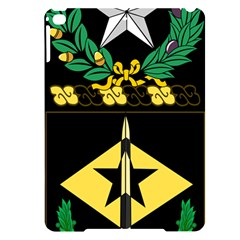 Coat Of Arms Of United States Army 49th Finance Battalion Apple Ipad Pro 9 7   Black Uv Print Case