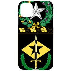Coat Of Arms Of United States Army 49th Finance Battalion Iphone 11 Pro Black Uv Print Case