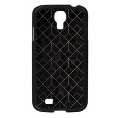 Black Gold Artdeco Samsung Galaxy S4 I9500/ I9505 Case (black) by goljakoff