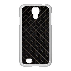 Black Gold Artdeco Samsung Galaxy S4 I9500/ I9505 Case (white) by goljakoff