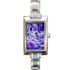 Abstract Space Rectangle Italian Charm Watch