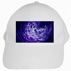 Abstract Space White Cap