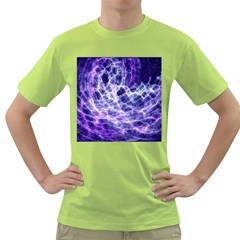 Abstract Space Green T Shirt