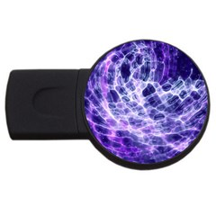 Abstract Space Usb Flash Drive Round (2 Gb)
