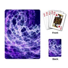 Abstract Space Playing Cards Single Design (rectangle)