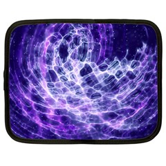 Abstract Space Netbook Case (large)