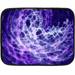 Abstract Space Fleece Blanket (mini)