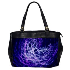 Abstract Space Oversize Office Handbag
