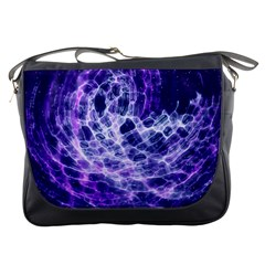 Abstract Space Messenger Bag
