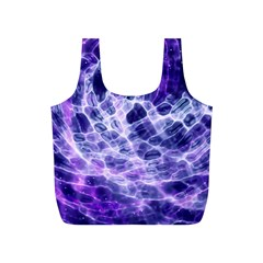 Abstract Space Full Print Recycle Bag (s)