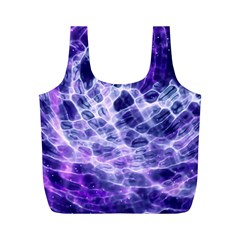Abstract Space Full Print Recycle Bag (m)