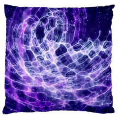 Abstract Space Large Flano Cushion Case (two Sides)