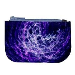 Abstract Space Large Coin Purse