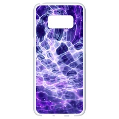 Abstract Space Samsung Galaxy S8 White Seamless Case