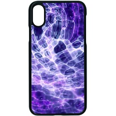 Abstract Space Iphone X Seamless Case (black)