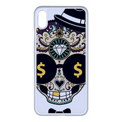 Big Money Head Iphone Xs Max Seamless Case (white) by merchvalley