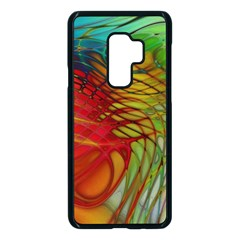 Texture Art Color Pattern Samsung Galaxy S9 Plus Seamless Case(black) by Sapixe