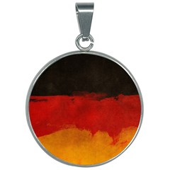Grunge Germany 30mm Round Necklace