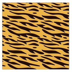 Tiger Large Satin Scarf (square) by goljakoff