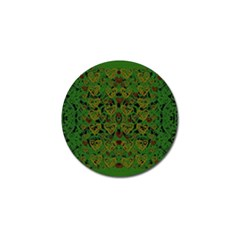 Love The Hearts On Green Golf Ball Marker (10 Pack) by pepitasart