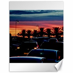 Urban Sunset Scene, Punta Del Este   Uruguay Canvas 18  X 24
