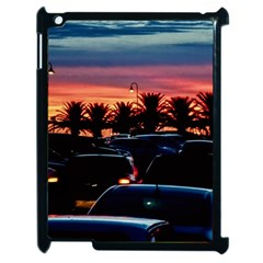 Urban Sunset Scene, Punta Del Este   Uruguay Apple Ipad 2 Case (black)
