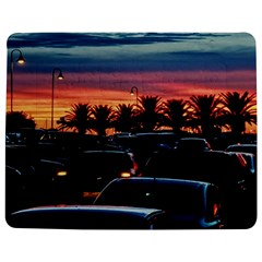 Urban Sunset Scene, Punta Del Este   Uruguay Jigsaw Puzzle Photo Stand (rectangular)