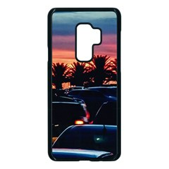 Urban Sunset Scene, Punta Del Este   Uruguay Samsung Galaxy S9 Plus Seamless Case(black)