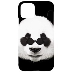 Panda Iphone 11 Black Uv Print Case