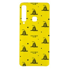 Gadsden Flag Don t Tread On Me Yellow And Black Pattern With American Stars Samsung Galaxy A9 Tpu Uv Case