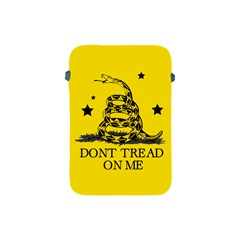 Gadsden Flag Don t Tread On Me Yellow And Black Pattern With American Stars Apple Ipad Mini Protective Soft Cases