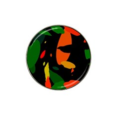 Pattern Formes Tropical Hat Clip Ball Marker by kcreatif