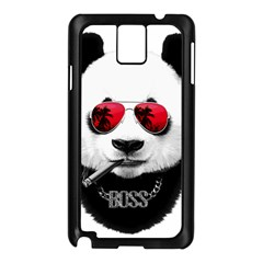 Panda Boss Samsung Galaxy Note 3 N9005 Case (black)