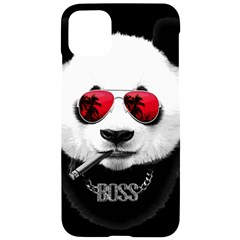 Panda Boss Iphone 11 Pro Max Black Uv Print Case