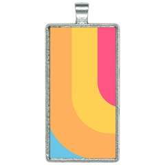 Funny Palette Rectangle Necklace by goljakoff