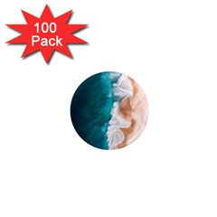 Sea Waves 1  Mini Magnets (100 Pack)  by goljakoff