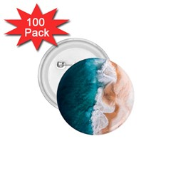 Sea Waves 1 75  Buttons (100 Pack)  by goljakoff