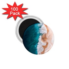 Sea Waves 1 75  Magnets (100 Pack)  by goljakoff
