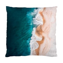 Sea Waves Standard Cushion Case (one Side) by goljakoff