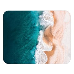 Sea Waves Double Sided Flano Blanket (large)  by goljakoff