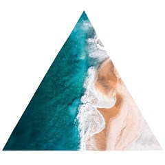 Sea Waves Wooden Puzzle Triangle by goljakoff