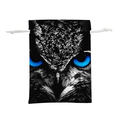 Owl Blue Eyes Lightweight Drawstring Pouch (s)